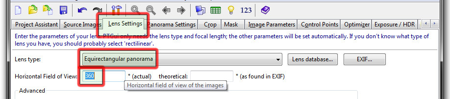 Example/Tutorial - Extract a Distorted Hotspot from any kind of Pano