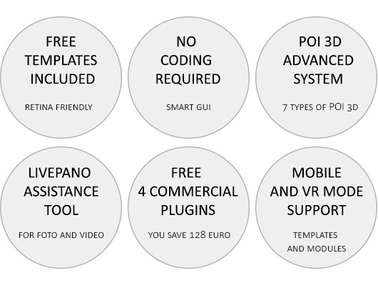 krpano com - Plugins - Virtual Tour Builder